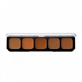 CRÈME TO POWDER FOUNDATION TESTER KIT IN MEDIUM DARK