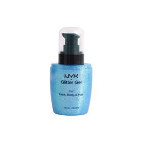 NYX Gel paillette pour le corps BLUE HAWAI