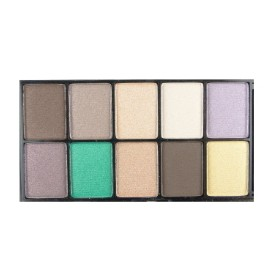 NYX PALETTE 10 COULEURS MYSTERIOUS BROWN EYES
