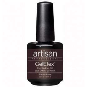 Artisan Vernis Soak Off GelEfex - Smoky Brown
