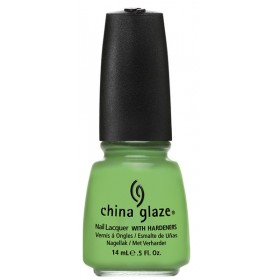 VERNIS CHINA GLAZE collection ELECTROPOP GAGA FOR GREEN