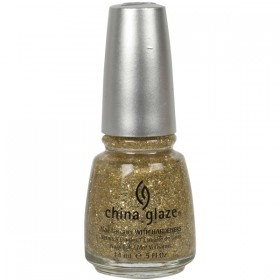 China Glaze Glitter Blonde Bombshell