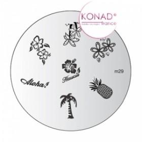 KONAD Plaque m29 - 7 motifs (codem29)