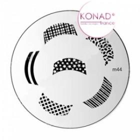 KONAD Plaque m44 - 6 motifs (codem44)