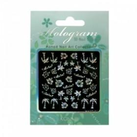 KONAD Hologram 3D Nail Sticker - KH3D-02