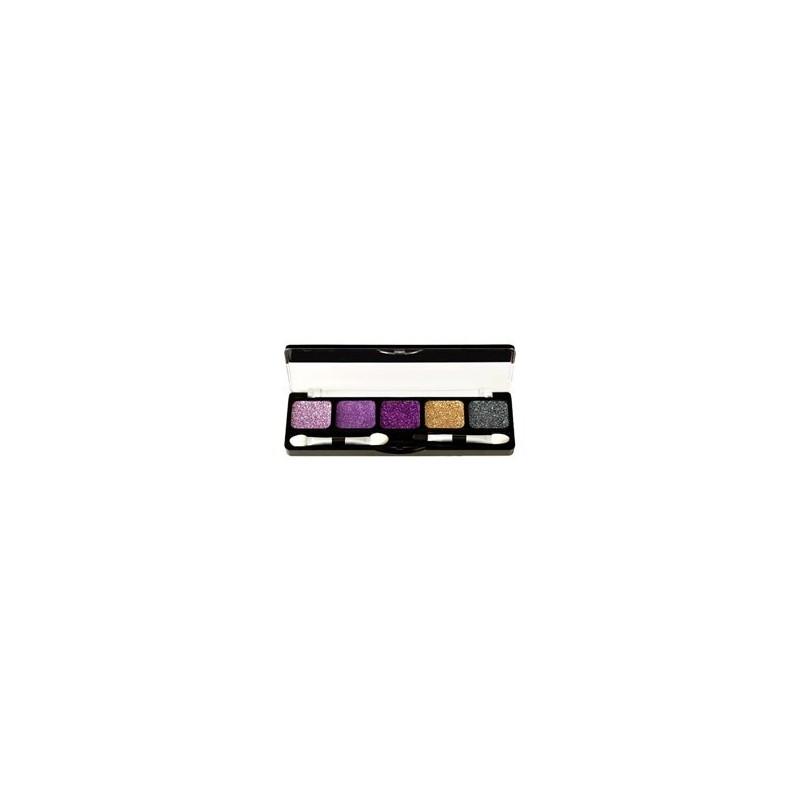 NYX palette 5 couleurs glitter ROYAL VIOLETS