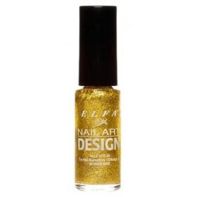 ELFA VERNIS NAIL ART DESIGN GLITTER GOLD