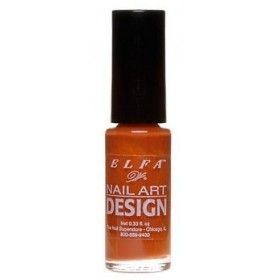 ELFA VERNIS NAIL ART DESIGN MARRON