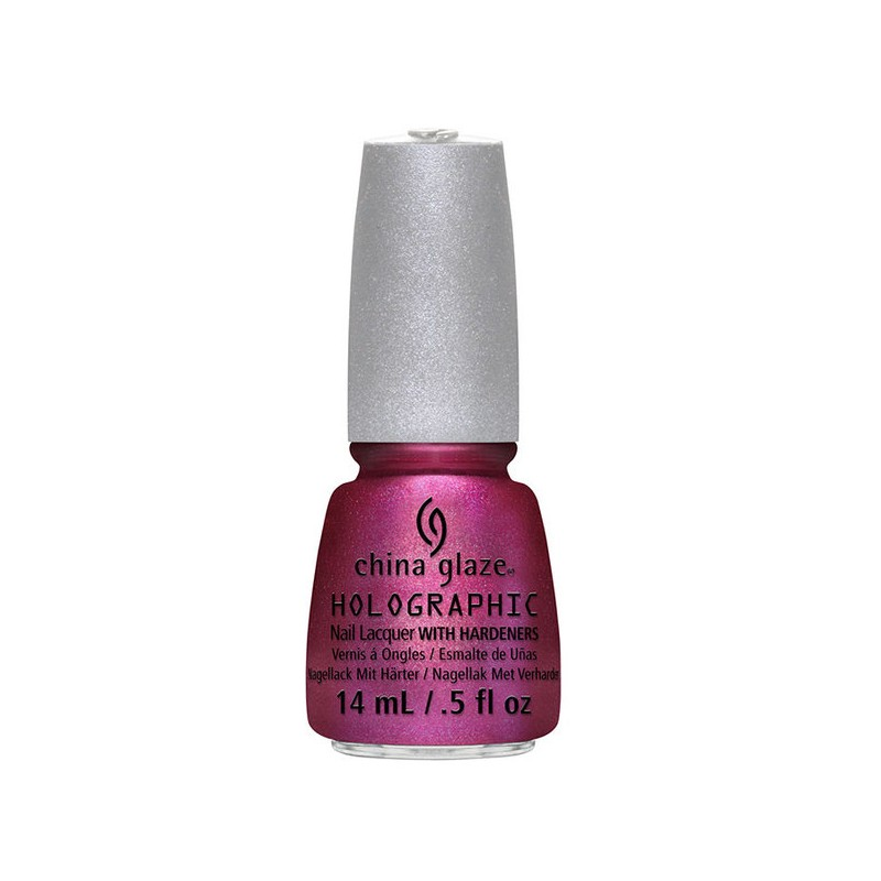 CHINA GLAZE 12 Holographic infra red
