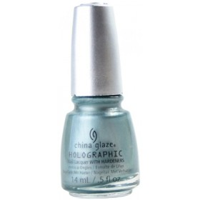 CHINA GLAZE 12 Holographic Nail Don't Be A Luna-Tic