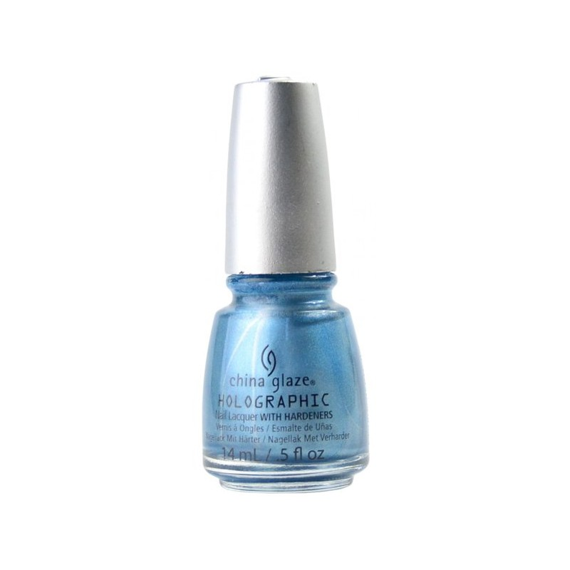 CHINA GLAZE 12 Holographic Nail Sci-Fly By