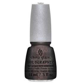 CHINA GLAZE 12 Holographic Nail Galactic Gray