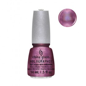 CHINA GLAZE 12 Holographic Astro-Hot