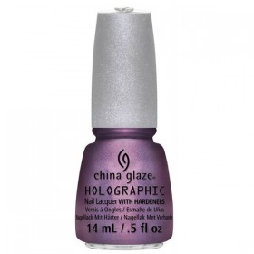 CHINA GLAZE 12 Holographic Nail Get Outta My Space